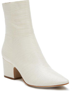 Matisse Women's At Ease Fashion Booties - Pointed Toe, White, hi-res