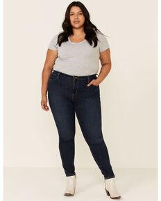 Levi's Women's Blue Story Dark Wash High Rise Skinny Jeans - Plus , Blue, hi-res