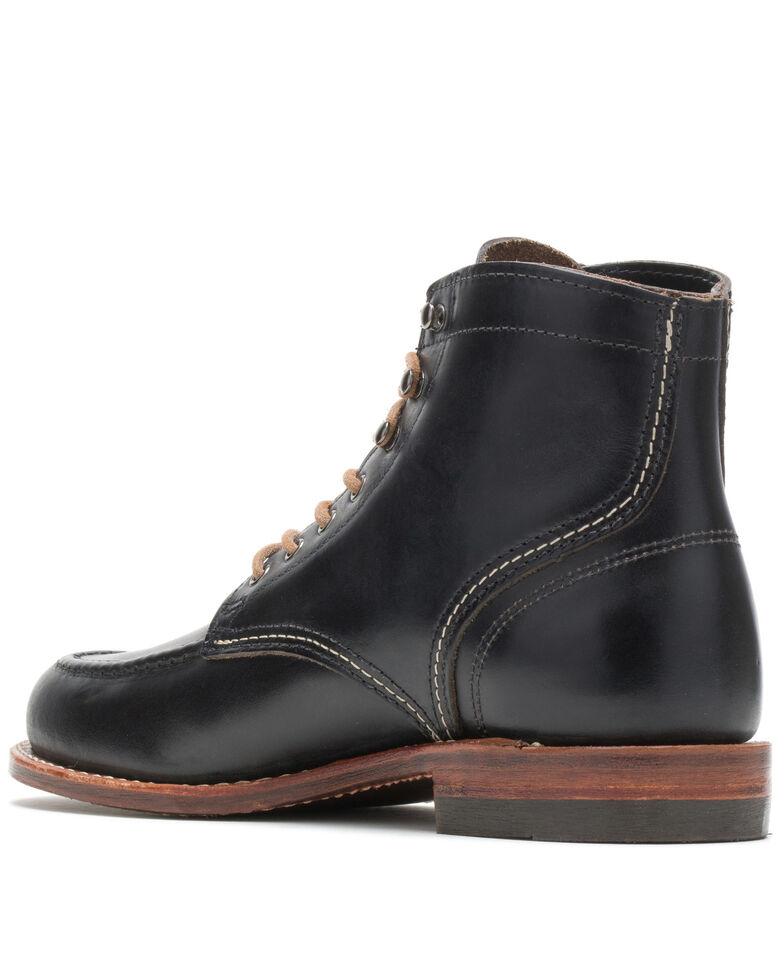 Wolverine Men's 1000 Mile 1940 Work Boots - Soft Toe, Black, hi-res