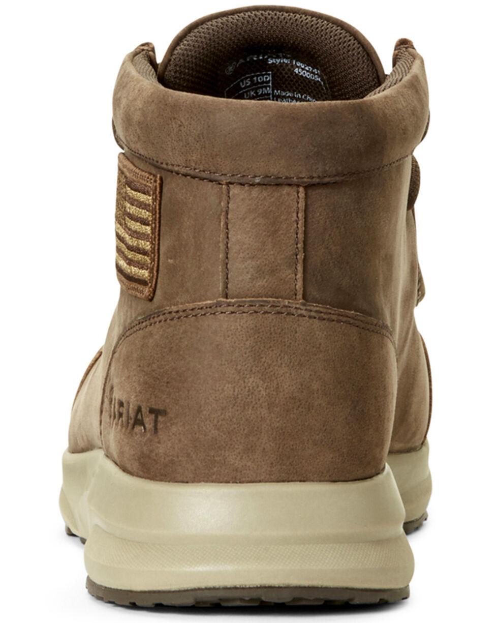 Ariat Men's Spitfire Patriot Terrace Shoes - Moc Toe, Brown, hi-res