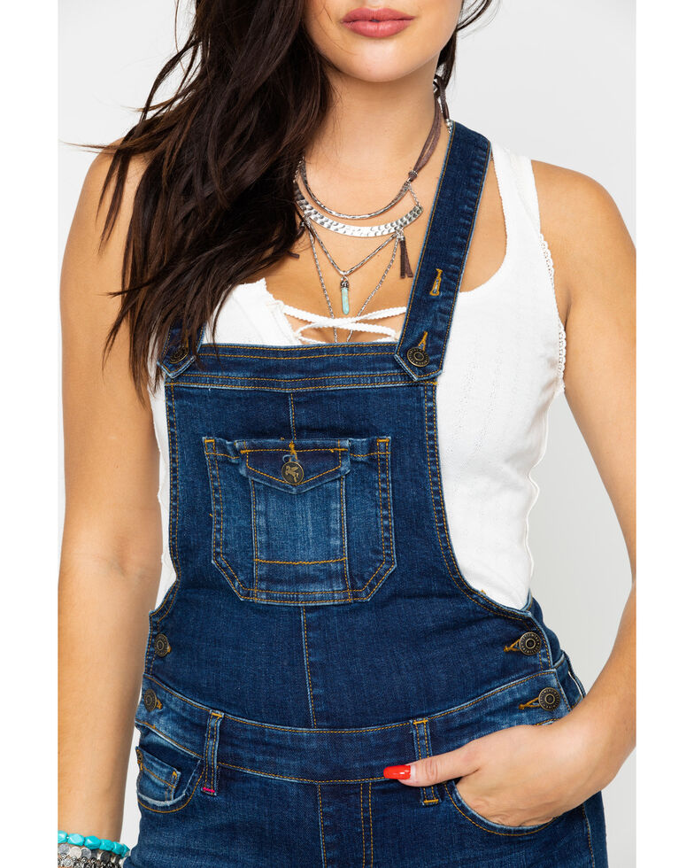 Idyllwind Women's Yes Ma'am Jean Overalls , Blue, hi-res