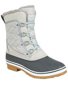 Northside Women's Modesto Waterproof Winter Snow Boots - Soft Toe, Light Grey, hi-res