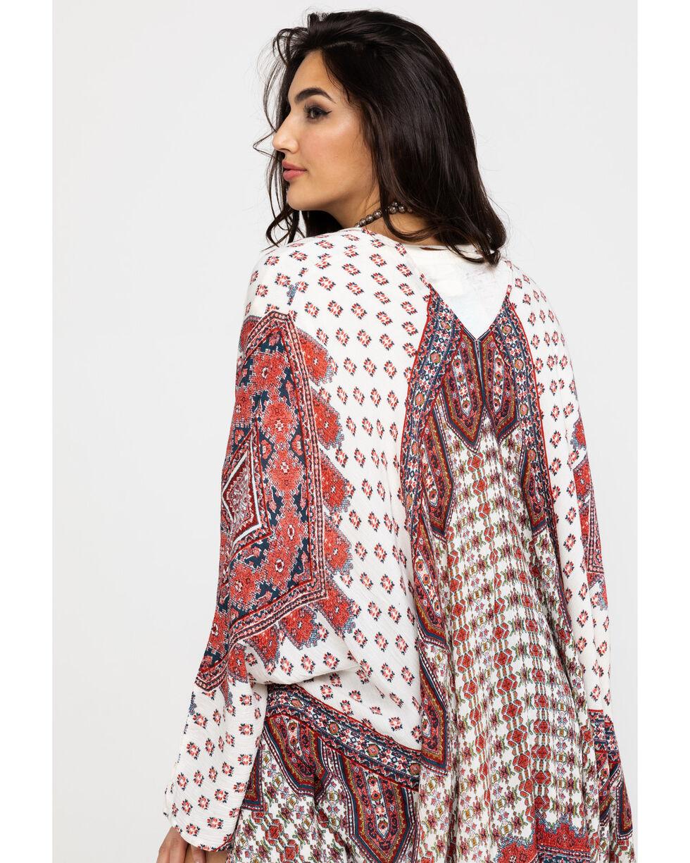 Patrons of Peace Women's Sahara Kimono, Ivory, hi-res