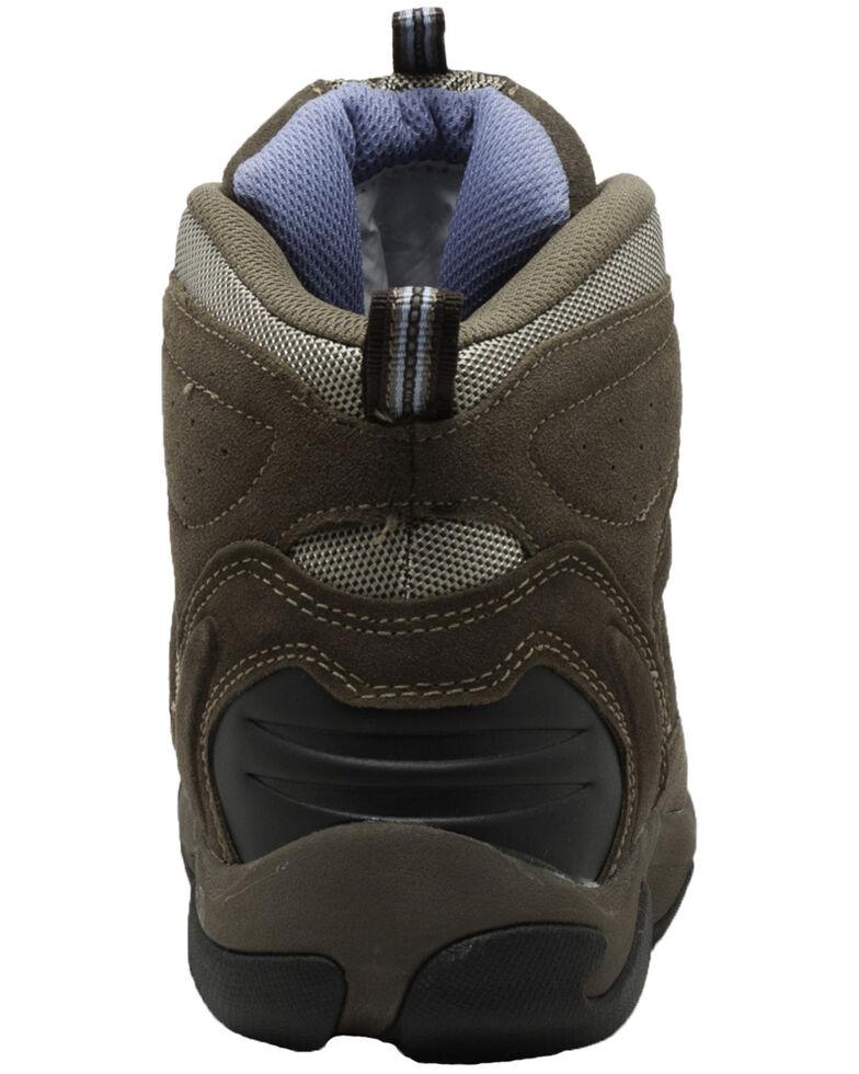 Ad Tec Women's Waterproof Work Boots - Composite Toe, Brown, hi-res