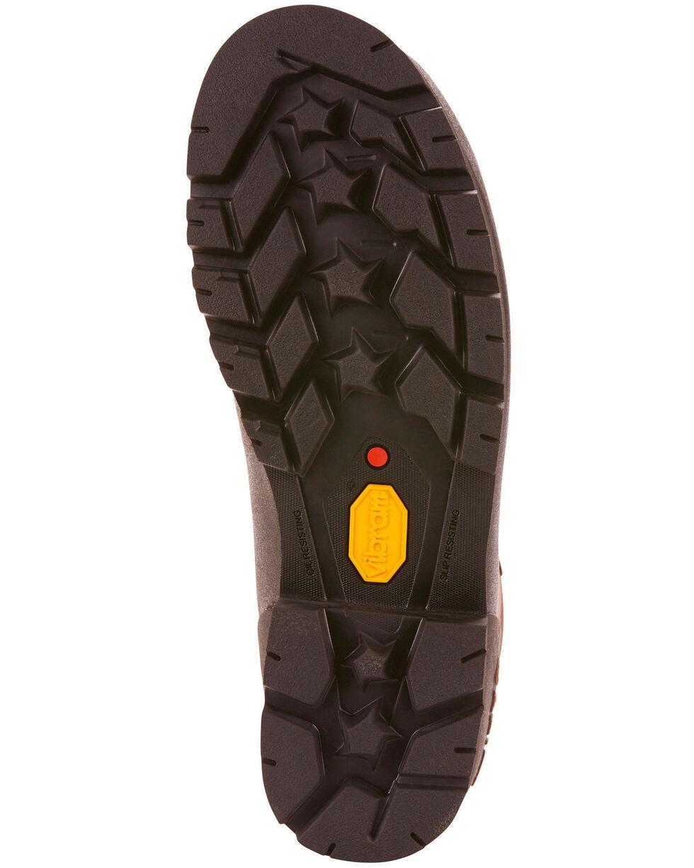 "Ariat Men's Linesman Ridge 6"" EH Work Boots - Round Composite Toe, Medium Brown, hi-res"