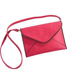 Wear N.E. Wear Women's Envelope Clutch/Crossbody Bag, Pink, hi-res