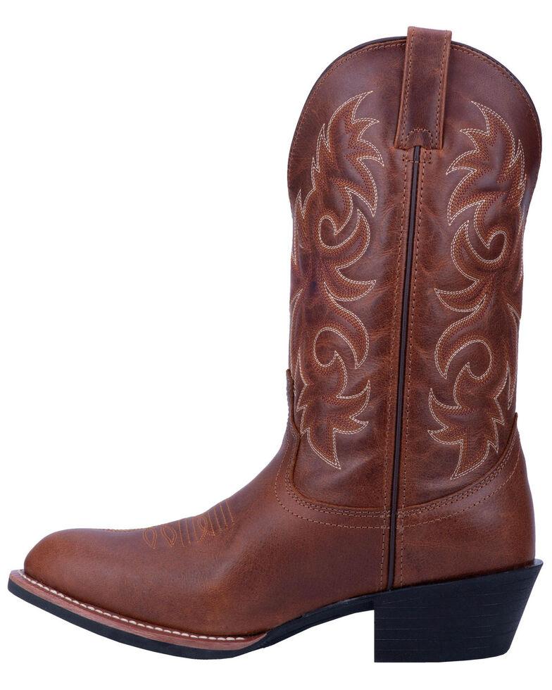 Laredo Men's Rust Mick Western Boots - Round Toe, Rust Copper, hi-res