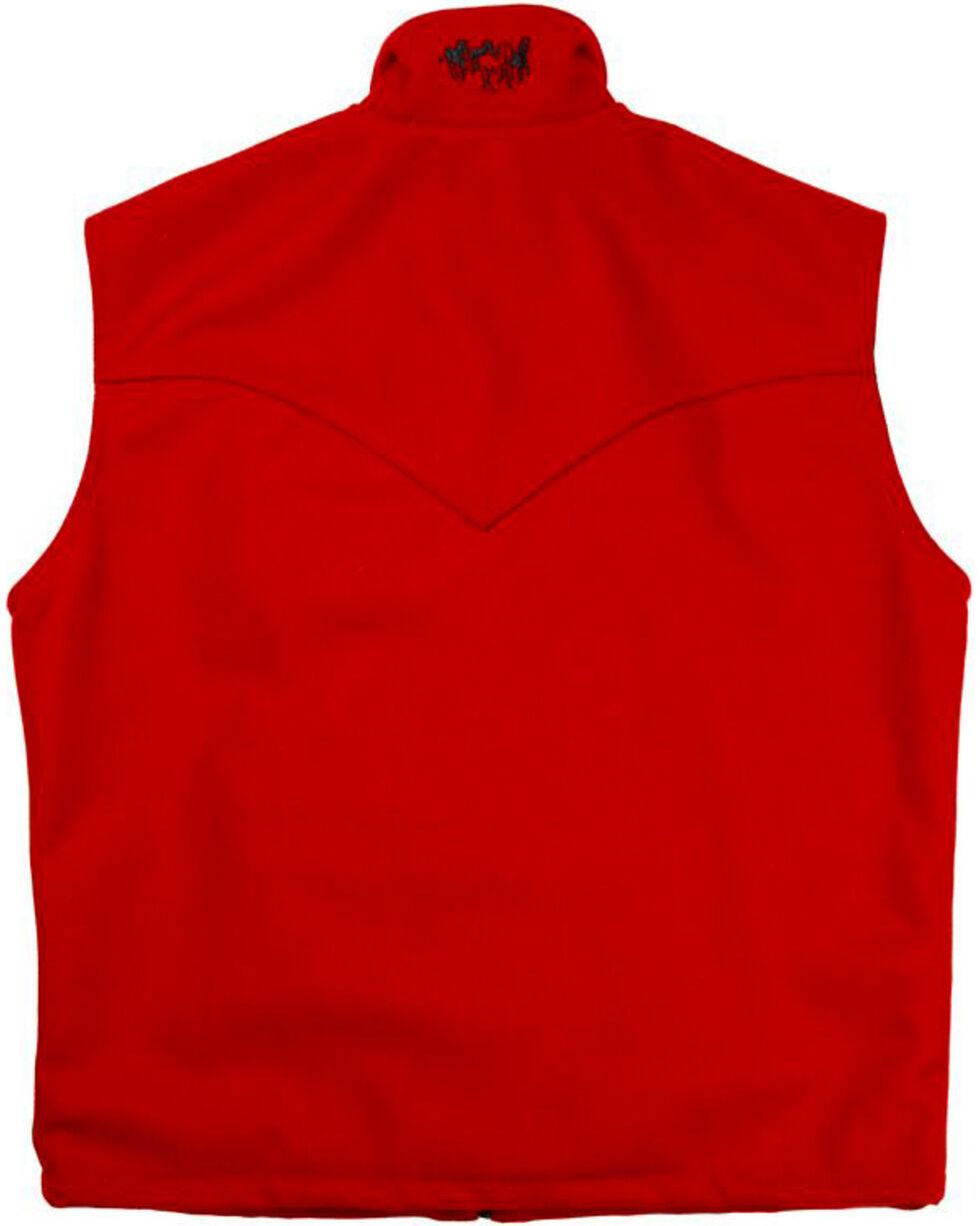 Schaefer Men's Red Arena Melton Wool Vest - 3XL, Red, hi-res