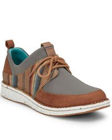 Justin Women's Vista Grey Shoes, Grey, hi-res