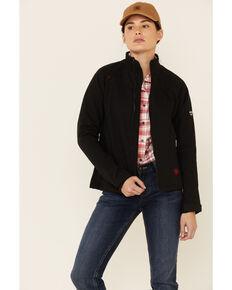 Ariat Women's Black Flame Resistant Platform Jacket, Black, hi-res