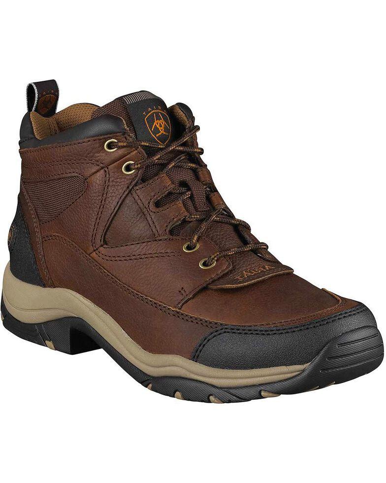 Ariat Men's Terrain Boots - Round Toe, Brown, hi-res