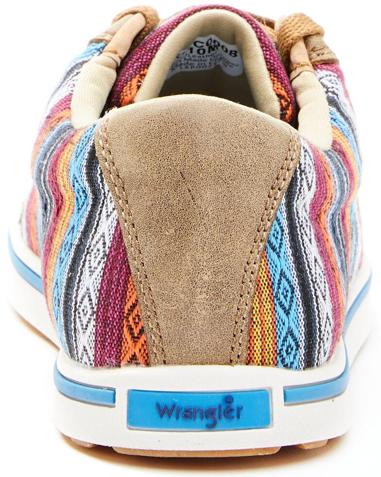 Wrangler Footwear Women's Serape Retro Casual Shoes, Multi, hi-res