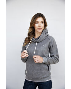 Kimes Ranch Women's Charcoal Scooper Hoodie , Charcoal, hi-res