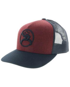 HOOey Men's Red Roughy 2.0 Trucker Cap, Red, hi-res