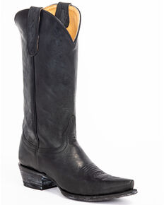 Idyllwind Women's Wildwest Black Western Boots - Snip Toe, Black, hi-res