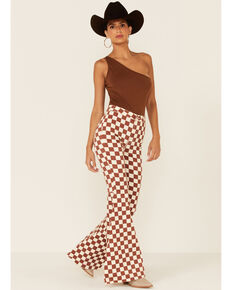 Free People Women's Just Float On Flares, Cream, hi-res