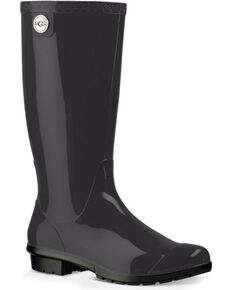 UGG Women's Black Shaye Boots - Round Toe , Black, hi-res