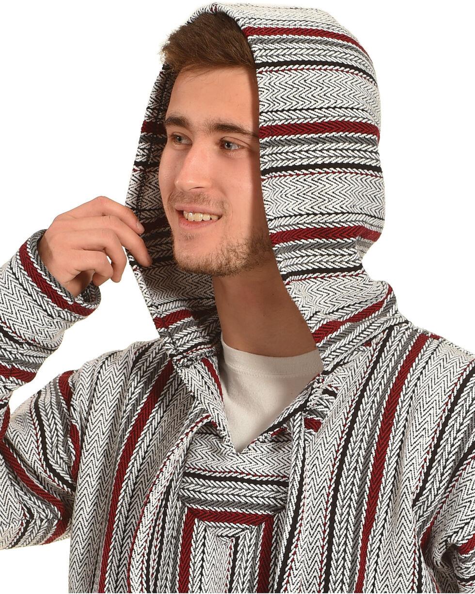 Senor Lopez Men's Red Baja Pullover, Red, hi-res