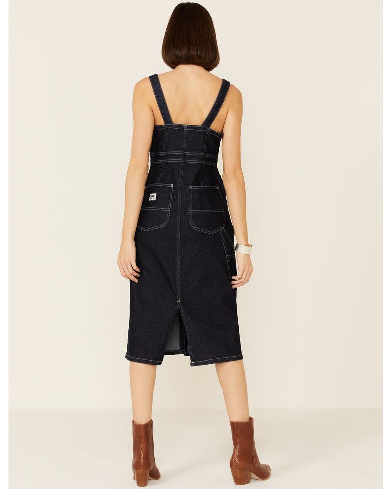 Lee Women's Vintage Modern Dungaree Dress, Blue, hi-res