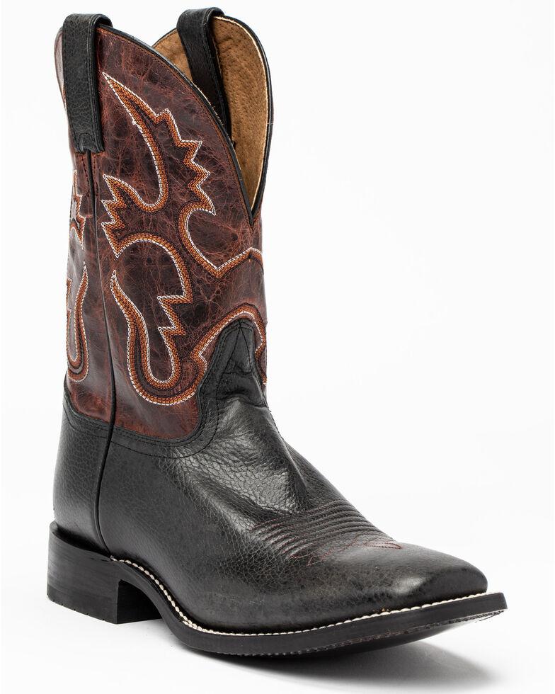 Cody James Men's Black Western Boots - Square Toe, Black, hi-res