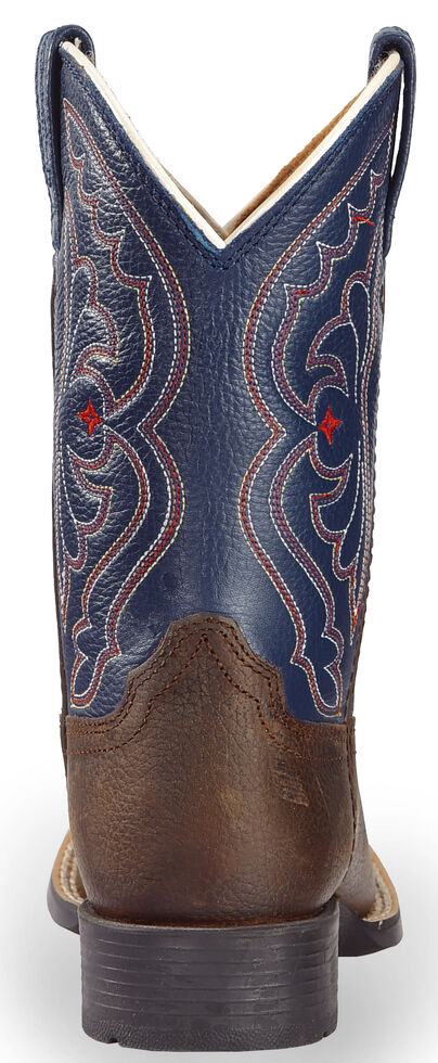 928e3faf29a Ariat Youth Boys' Royal Blue Quickdraw Cowboy Boots - Square Toe