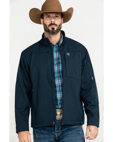 Ariat Men's Grey Vernon 2.0 Softshell Jacket , Indigo, hi-res