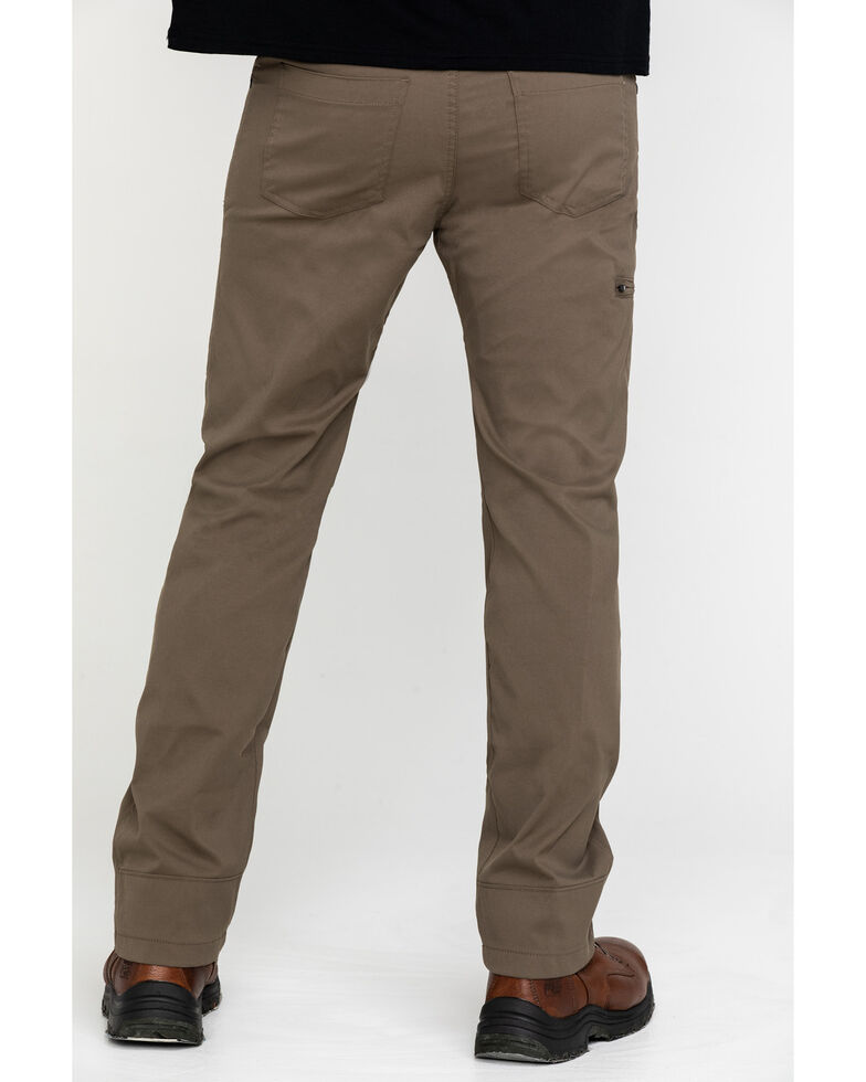 ATG By Wrangler Men's Monel Synthetic Stretch Utility Pants , Brown, hi-res