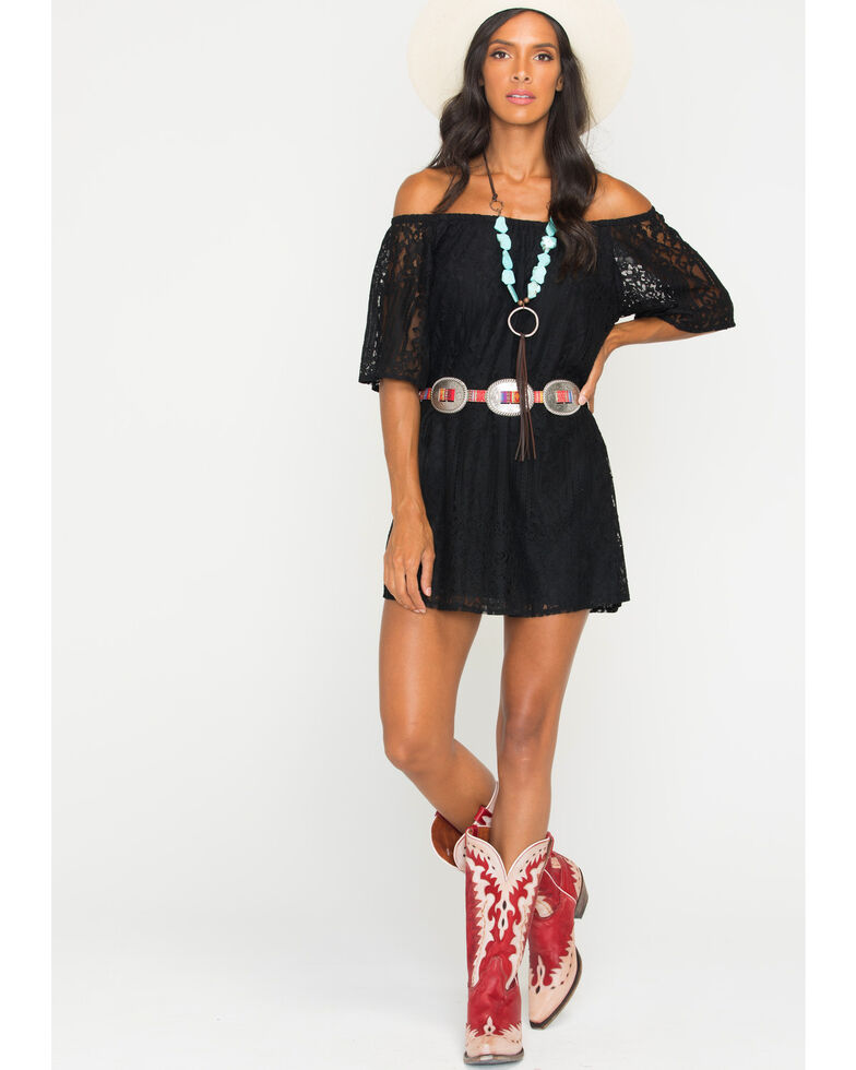 4b6cd2763882 Glam Women s Mojave Off The Shoulder Dress - Country Outfitter