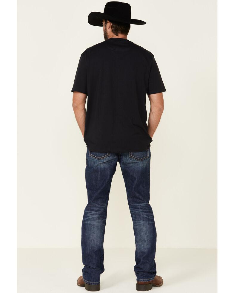 Ariat Men's M2 Prescott Relaxed Stackable Boot Cut Jeans , Blue, hi-res