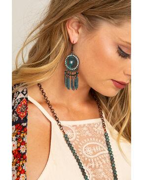 Shyanne Women's Odessa Dream Catcher Earrings, Turquoise, hi-res