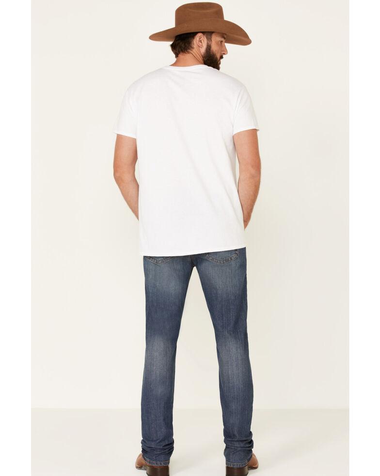Cody James Core Men's Travois Medium Wash Mid Tier Stretch Slim Straight Jeans , Blue, hi-res