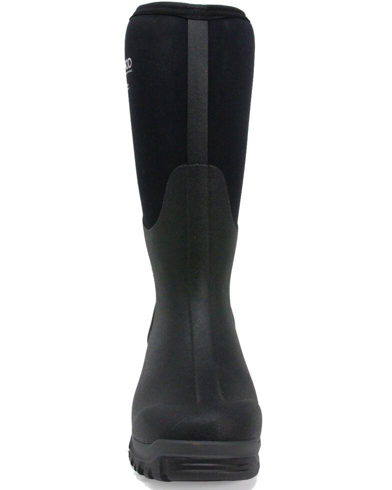 Dryshod Men's Legend MXT Rubber Boots - Round Toe, Black, hi-res