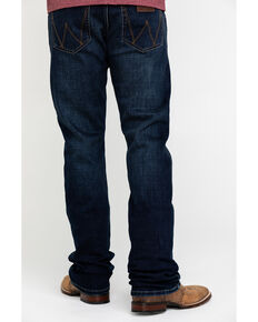 Wrangler Retro Men's Lockhart Premium Stretch Slim Boot Jeans , Indigo, hi-res
