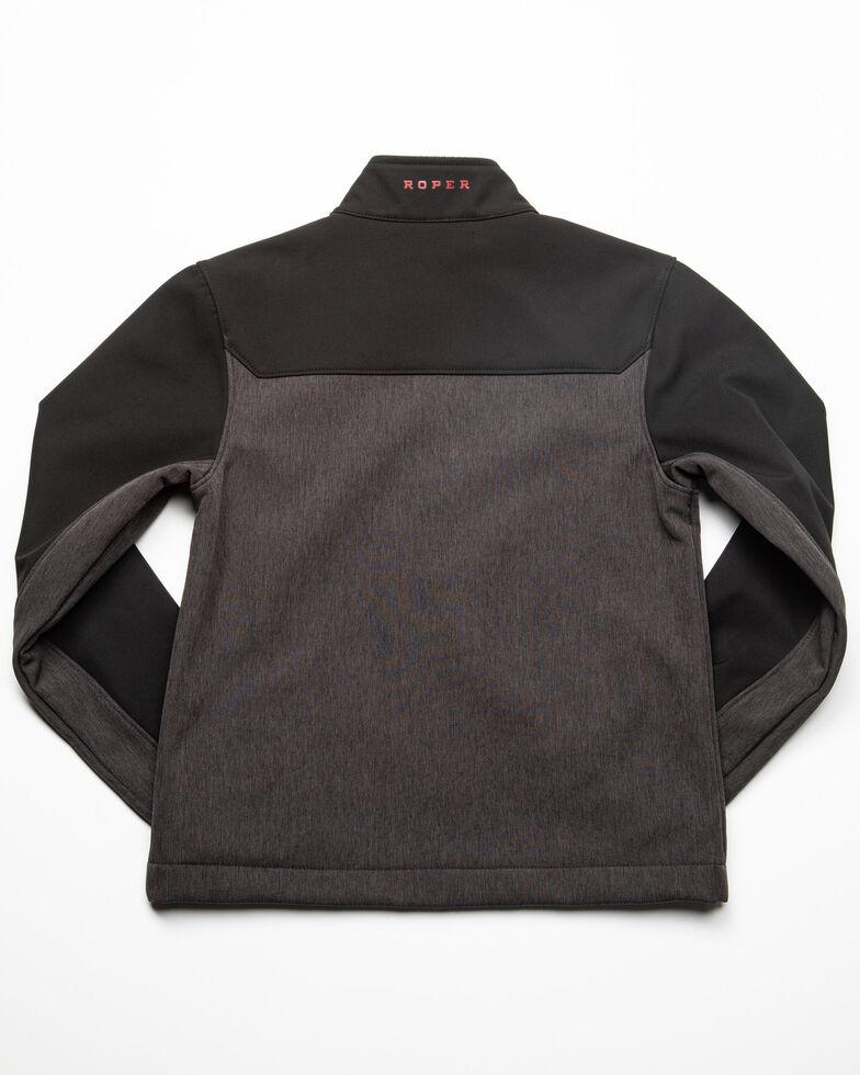 Roper Boys' Hi Tech Fleece Zip Up Jacket , Black, hi-res