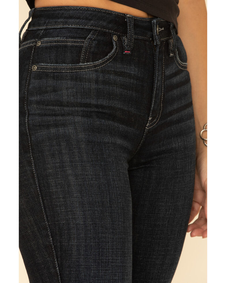 Idyllwind Women's Super Highrise Roper Outlaw Bootcut Jeans, Dark Blue, hi-res