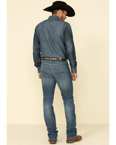 Cody James Men's Fistcuff Stackable Stretch Straight Jeans , Blue, hi-res