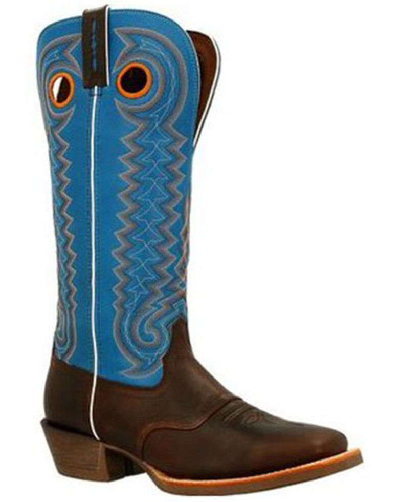 Durango Men's Rebel Pro Buckaroo Western Boots - Square Toe, Brown, hi-res