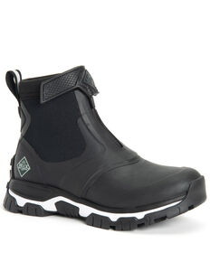 Muck Boots Women's Apex Rubber Boots - Round Toe, Black, hi-res