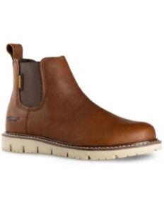 DeWalt Men's Flex Albany Work Boots - Soft Toe, Tan, hi-res