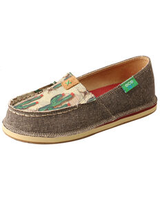 93ef3cd6ad Twisted X Boys Cactus Driving Loafers - Moc Toe, Lt Brown, hi-res