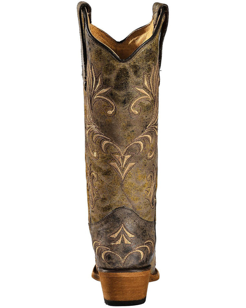 Circle G Women S Diamond Embroidered Cowgirl Boot Square: Circle G Women's Filigree Cowgirl Boots