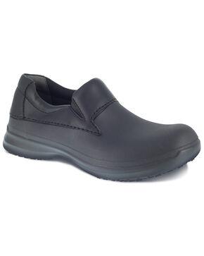 Grabbers Men's Black Literush Slip Resisting Work Boots - Soft Toe, Black, hi-res