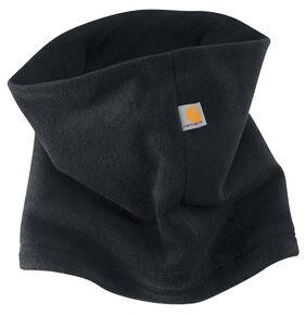Carhartt Men's Fleece Neck Gaiter Work Hat, Black, hi-res