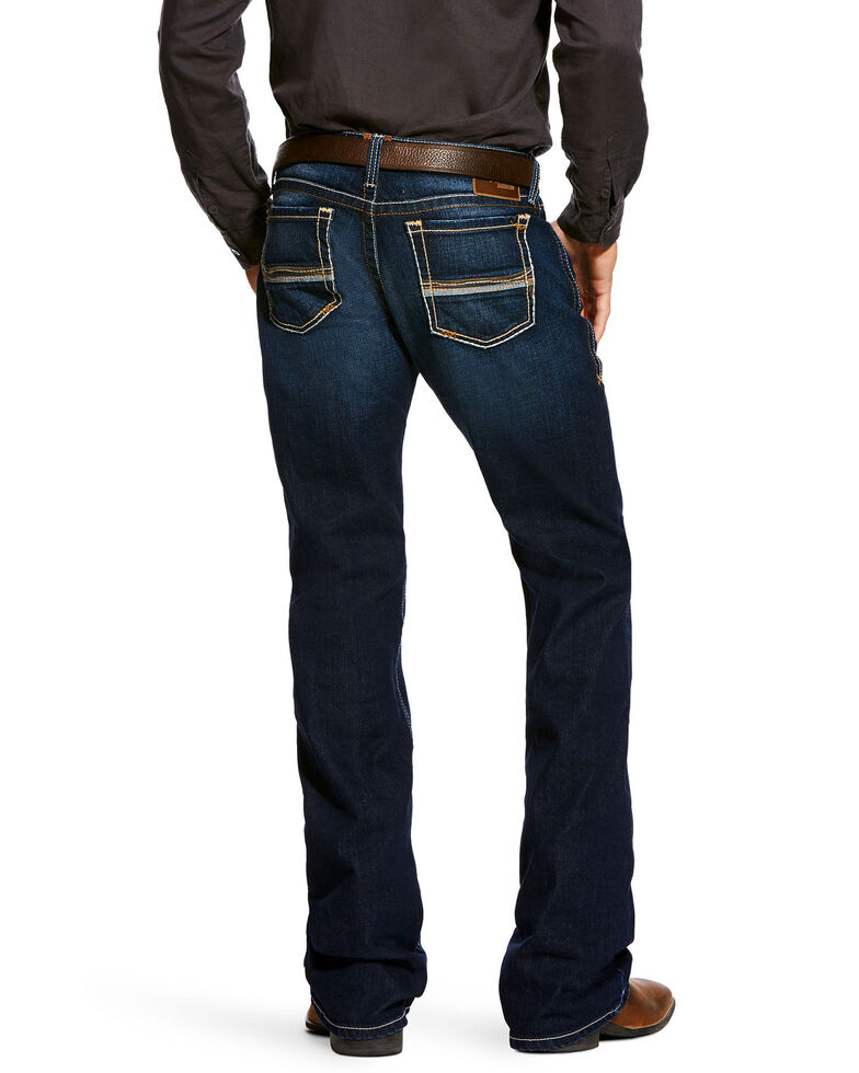 Ariat Men's Tanner Dodge Straight Leg Jeans, Indigo, hi-res