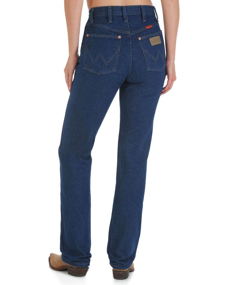 Wrangler Women's Prewashed Cowboy Cut Slim Fit Jeans, Indigo, hi-res