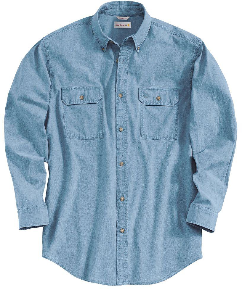 Carhartt Fort Long Sleeve Shirt, Chambray, hi-res