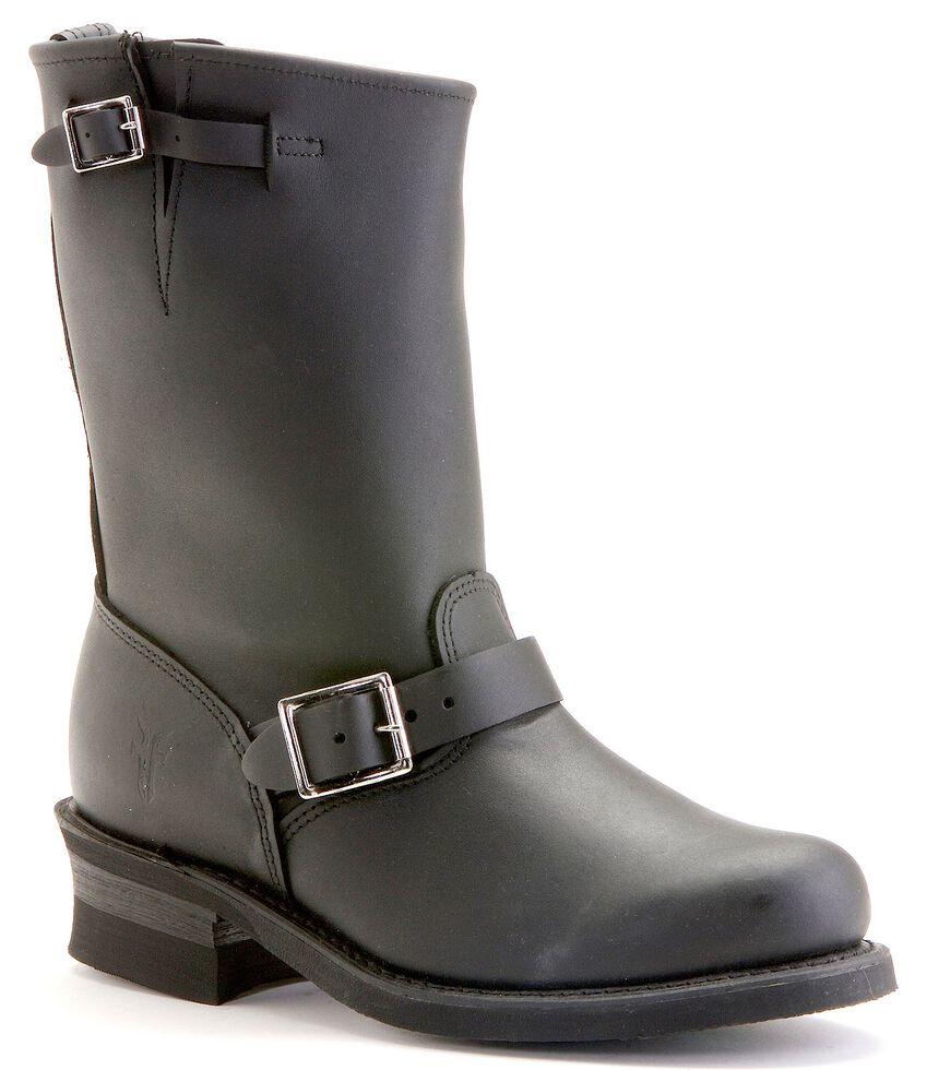 Frye Men's Engineer 12R Boots - Round Toe, Black, hi-res