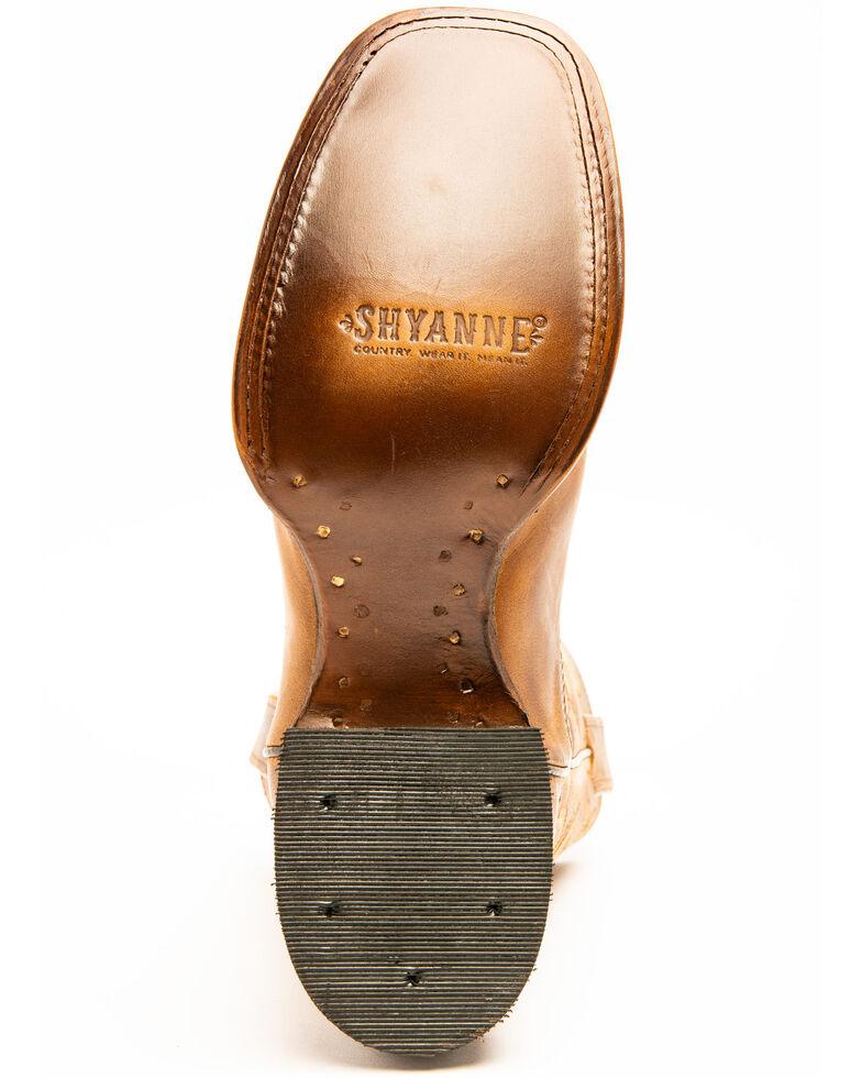 Shyanne Women's Cognac Western Boots - Square Toe, Brown, hi-res