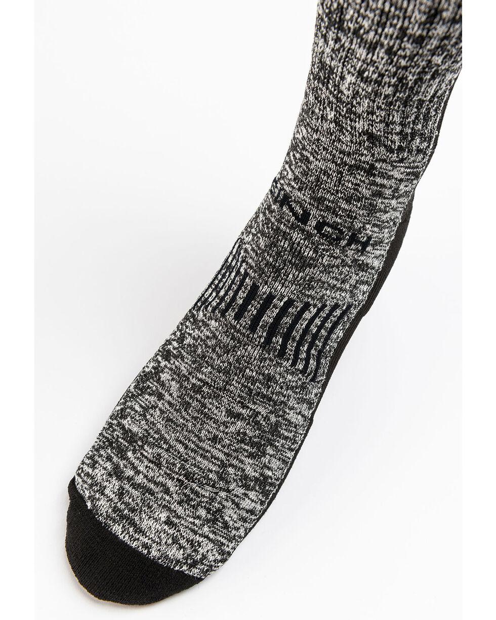 Cinch Women's Distressed Boot Socks, Black, hi-res