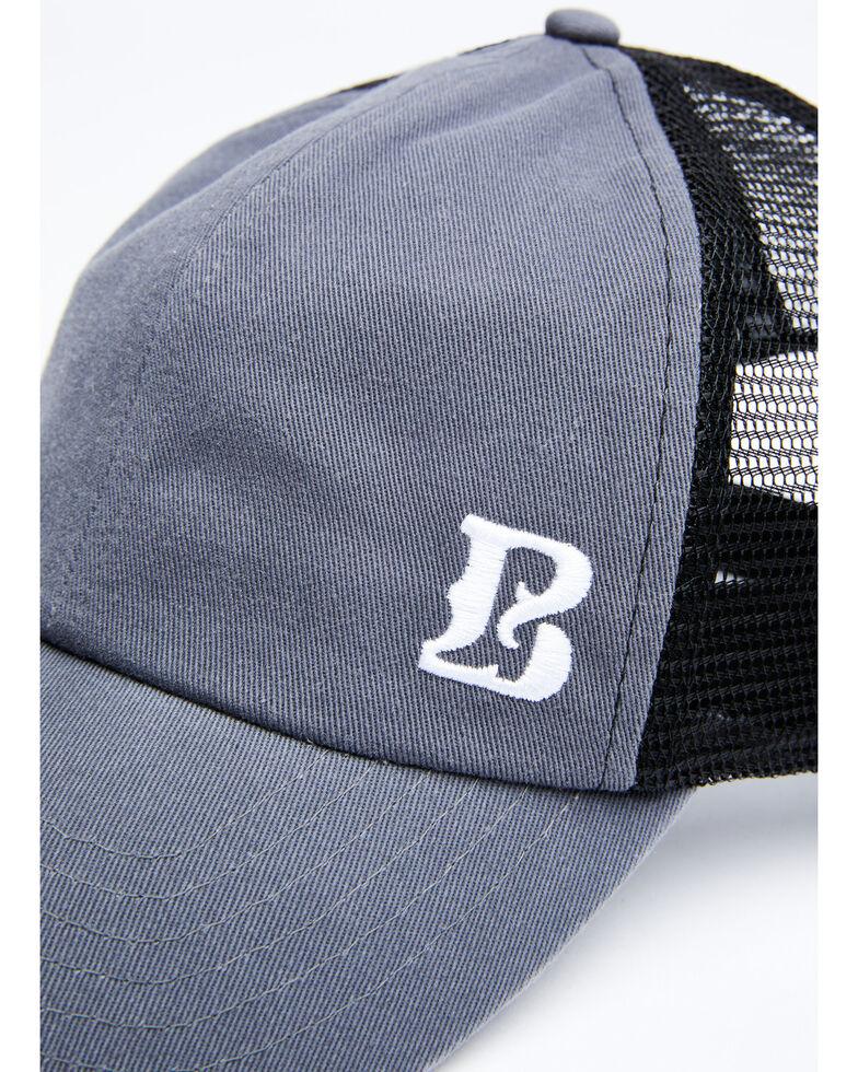 Boot Barn Men's Proud B Corner Logo Mesh Cap , Grey, hi-res